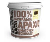 Арахісова паста ТОМ з шматочками шоколаду 1 кг