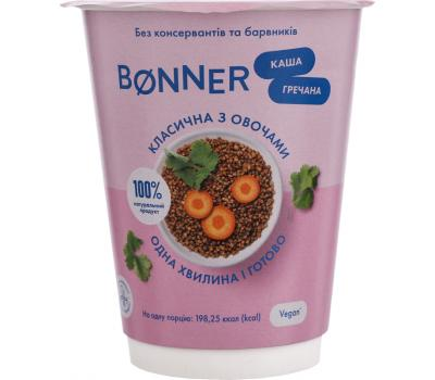 Каша гречана Bonner класична з овочами 50 г