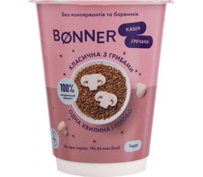 Каша гречневая Bonner классическая с грибами 50 г