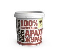 Арахісова паста ТОМ з журавлиною 500 г
