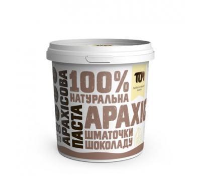 Арахісова паста ТОМ з шматочками шоколаду 500 г
