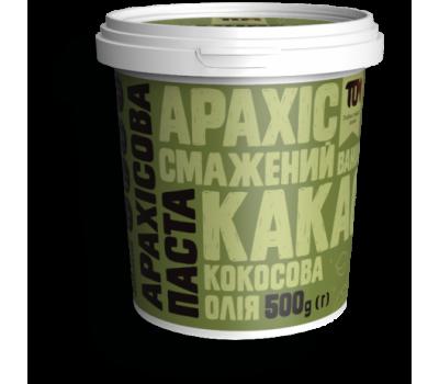 Арахисовая паста ТОМ с какао и кокосовым маслом 500 г