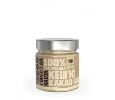 Паста кеш'ю з какао бобами ТОМ 180 г