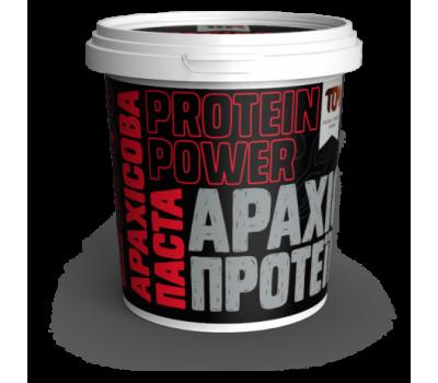 Арахісова паста ТОМ з протеїном 500г