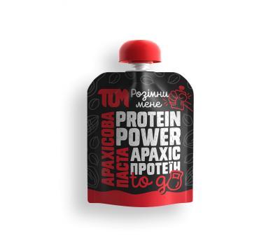 Арахісова паста ТОМ з протеїном 64 г
