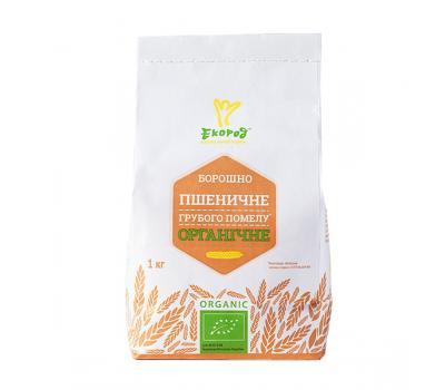 Борошно пшеничне органічне грубого помелу Екород 1 кг