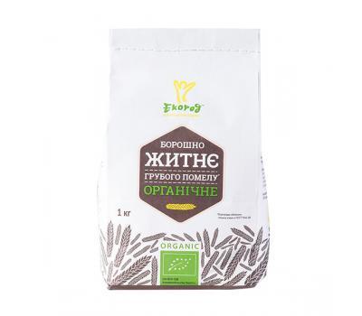 Мука ржаная органическая Экород 1 кг