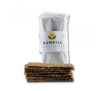 Хлебцы грибные Sunfill 100 г