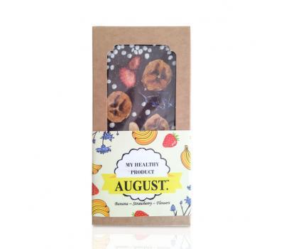 Квітковий шоколад з фруктами і горіхами AUGUST  100 г