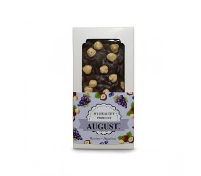 Шоколад Изюм с фундуком AUGUST 100 г
