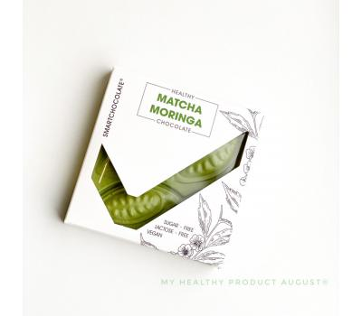 Шоколад Matcha Moringa August 75 г