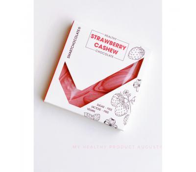 Шоколад Strawberry Cashew August 75 г