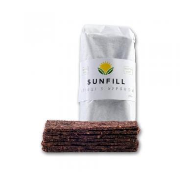 Хлібці з чорносливом та буряком Sunfill 100 г