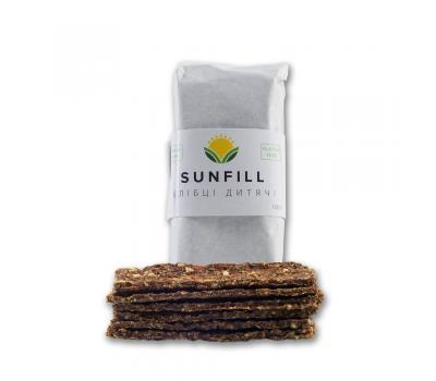 Хлебцы детские Sunfill 100 г