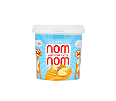 Арахісовая паста Nom Nom классическая 500г
