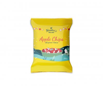 Яблучні чіпси солодкі (без цукру) Newton's Україна 50 г
